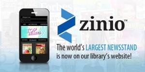 Digital Magazines from Zinio